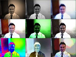 Cameroid effetti con la tua webcam