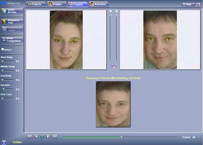 FotoMorph: metti l'effetto Morphing sulle tue fotografie