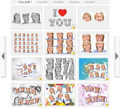 Crea stupendi collage con le tue fotografie direttamente online