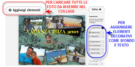 come creare collage di fotografie