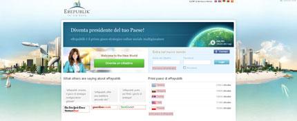 eRepublik: gioco di strategia online dove potrai crearti la tua seconda vita virtuale