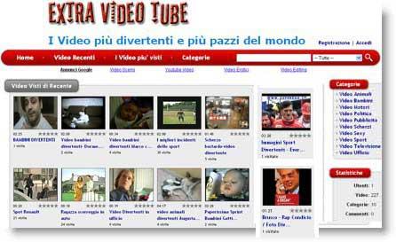 Extra Video Tube: tutti i video più divertenti del web