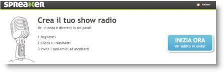 Spreaker: diventa Radio Dj sul web