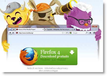 News:Firefox 4 download versione ufficiale