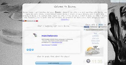 Crea sito web geolocalizzato in un click