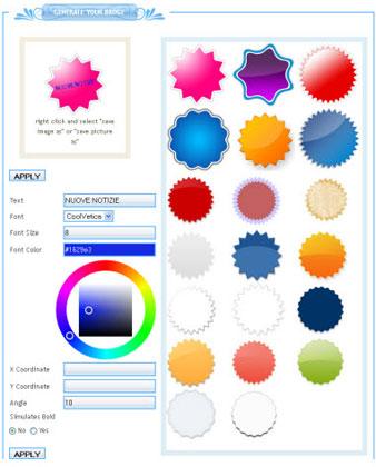 etichetteweb 2.0 online