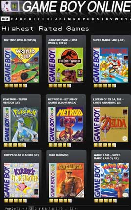 Gioca gratis a Game Boy online