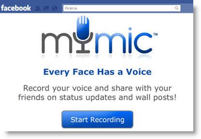 MyMic: invia messaggi vocali su Facebook