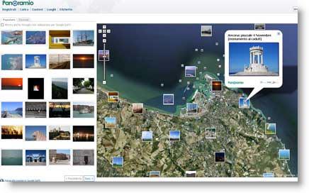 panoramio sito di fotografie geolocalizzate