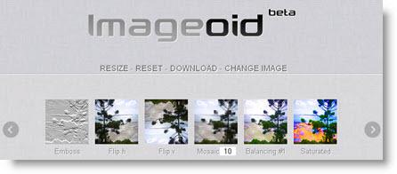 ImageOid: effetti sulle tue fotografie in un click