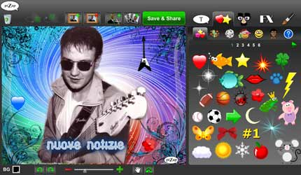 Pizap: crea cartoline decorate con le tue fotografie
