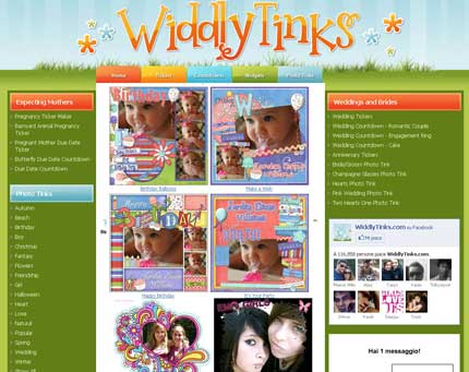 Widdlytinks: crea biglietti di auguri e cartoline con le tue foto