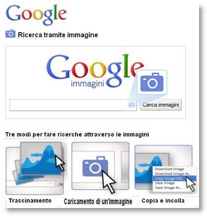 Google introduce la ricerca tramite immagini