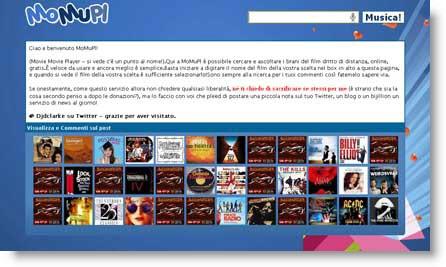 Momupl: ascoltare online le colonne sonore dei tuoi film preferiti