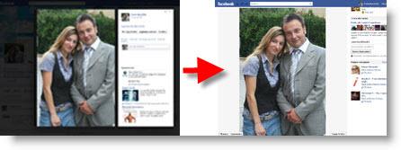 Facebook: come visuazzare le foto senza il riquadro nero