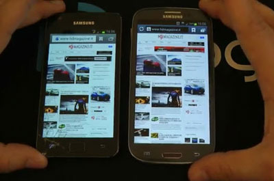 Vodeo Galaxy S3 contro Galaxy S2 guarda il confronto