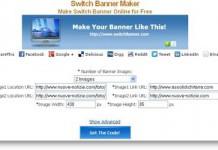 Crea Banner a rotazione per i tuoi siti