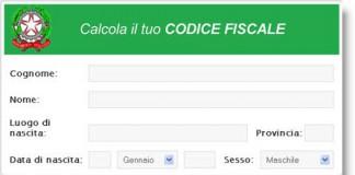 Codice Fiscale? Calcolalo online