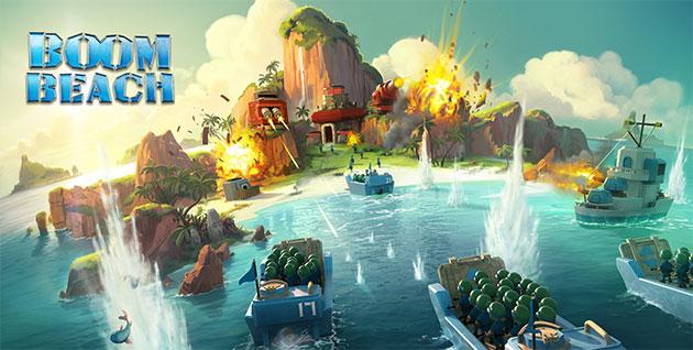 I 10 migliori videogiochi per Smartphone e Tablet: Boom Beach