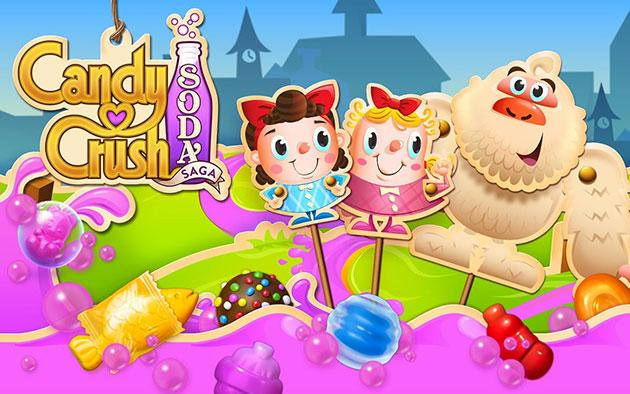 I 10 migliori videogiochi per Smartphone e Tablet: candy crush soda