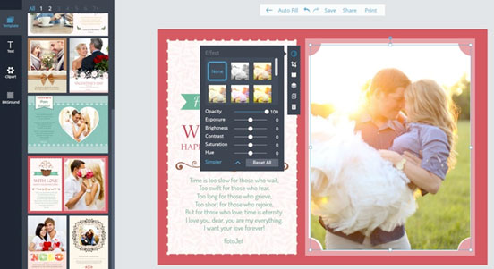 Recensione FotoJet Easy e Quick Photo Designer Online