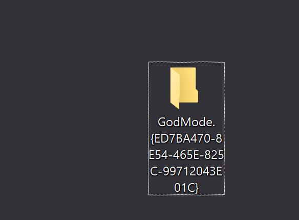 """Come Abilitare Il """"God Mode"""" In Windows 10 Per Tutte Le Impostazioni"""